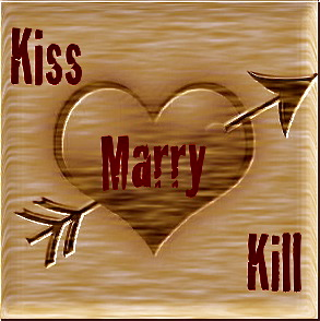 Game called Kiss Kill or Marry