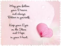girls believe in dreams and following their heart