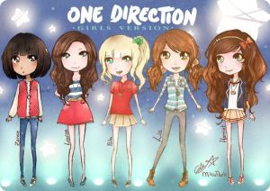 one direction the UK boy band are all so young and pretty like girls