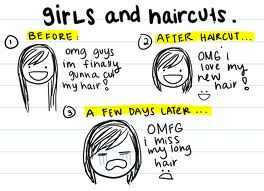 girls whinging about their hear and never happy