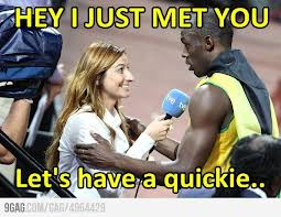 Usain Bolt and how he always gets the girls