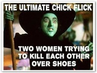 Wizard of Oz and the fight over shoes